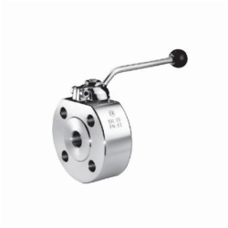 Compact Ball Valves to Clamp, with Inserted Part, Type 1045.1